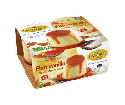 AU MARCHE FLEURY - VENTE EN LIGNE DE FRUITS ET LEGUMES - flan vanille bio